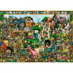 Puzzle  Ravensburger-19760 Colin Thompson - Yesterday's Treasure