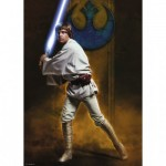 Puzzle  Ravensburger-19776 Star Wars - Luke Skywalker