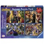 Bumper Pack 4 Puzzles - Avengers Infinity War