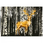 Puzzle   Do it Yourself - Cerf dans la Forêt