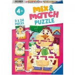Mix and Match Puzzles - Farm Animals