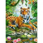 Puzzle   Tigre dans la Jungle