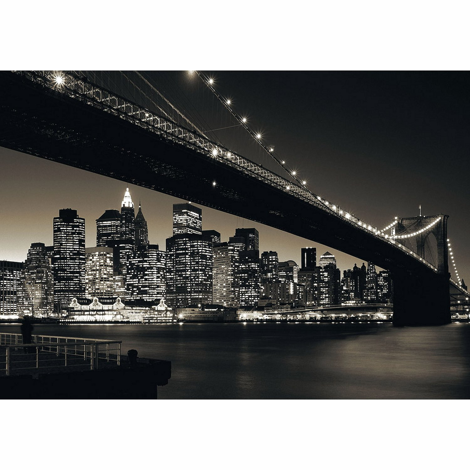 puzzle usa pont de brooklyn manhattan ravensburger 15835 1000 pi ces puzzles villes et. Black Bedroom Furniture Sets. Home Design Ideas