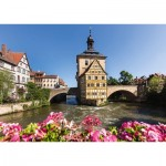 Puzzle   Bamberg, Regnitz and Veille Mairie