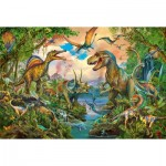 Puzzle   Dinosaures Sauvages