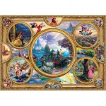 Puzzle  Schmidt-Spiele-59607 Thomas Kinkade - Disney Dreams Collection
