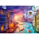 Puzzle   Lars Stewart - Venise - Night and Day