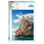 Puzzle  Step-Puzzle-78098 Swallow's Nest