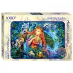 Puzzle  Step-Puzzle-79537 Nadezhda Strelkina - Fairy of the Forest