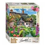Puzzle  Step-Puzzle-79805 Pink Cottage