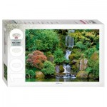 Puzzle   Waterfall in Portland Japanese Garden