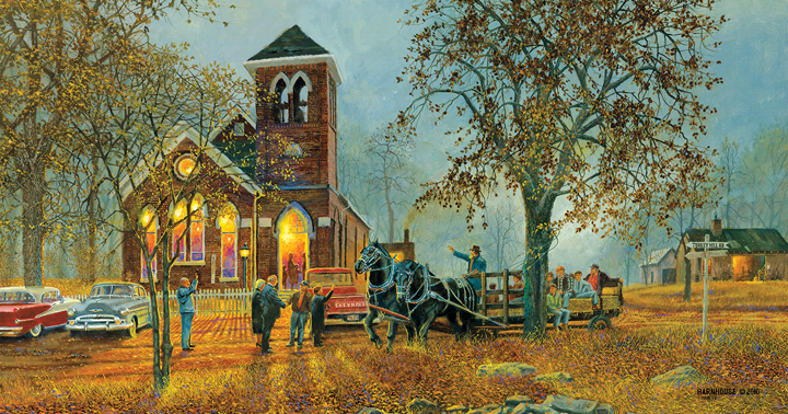 Old Fashioned Hayride 1000 Piece Jigsaw Puzzle by SunsOut