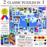 Sunsout-10172 Irv Brechner - Puzzle Combo: Taking Flight