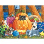 Puzzle  Sunsout-12544 Pièces XXL - Surprise Halloween
