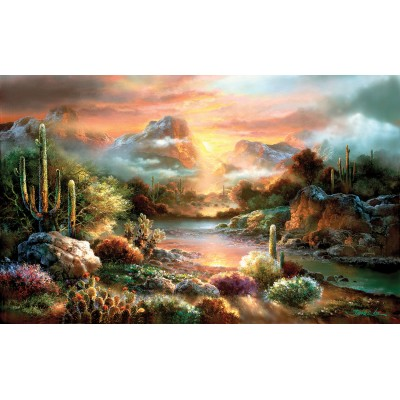 Puzzle Sunsout-18002 Pièces XXL - James Lee - Sunset Splendor
