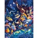 Puzzle  Sunsout-21871 Pièces XXL - Three Witches