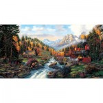 Puzzle  Sunsout-26213 Pièces XXL - Autumn Run