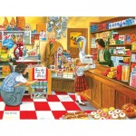 Puzzle  Sunsout-26608 Pièces XXL - Open All Hours