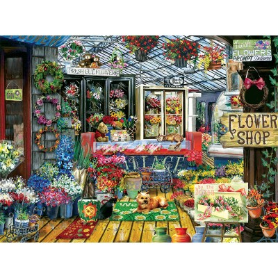 Puzzle Sunsout-28731 Tom Wood - Fresh Cut Flowers