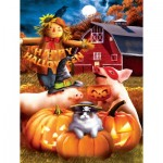 Puzzle  Sunsout-28737 Pièces XXL - Happy Halloween
