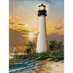 Puzzle  Sunsout-28838 Pièces XXL - Cape Florida Lighthouse
