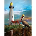 Puzzle  Sunsout-28847 Pièces XXL - Pigeon Point Lighthouse