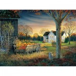 Puzzle  Sunsout-29046 Sam Timm - Pumpkin Harvest
