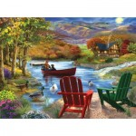 Puzzle  Sunsout-31421 Pièces XXL - Lake Life