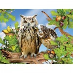 Puzzle  Sunsout-34950 Pièces XXL - Owl Always Love You