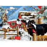 Puzzle  Sunsout-35090 Pièces XXL - Lori Schory - The Carrot Thief