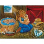 Puzzle  Sunsout-35824 Pièces XXL - Love at First Sight
