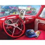Puzzle  Sunsout-37133 Pièces XXL - Greg Giordano - American Car