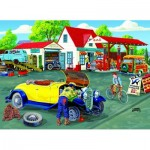 Puzzle  Sunsout-38840 Pièces XXL - Joseph Burgess -  Somerset Service Station