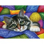 Puzzle  Sunsout-39443 Pièces XXL - Colorful Patchwork