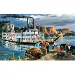 Puzzle  Sunsout-39521 Pièces XXL - Ken Zylla - Riverboat