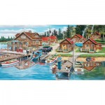 Puzzle  Sunsout-39610 Pièces XXL - Timber Lodge