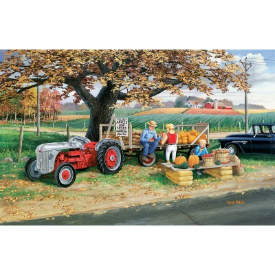 Puzzle Sunsout-39774 Ken Zylla - Harvest Time