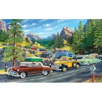 Puzzle  Sunsout-39778 Pièces XXL - Holiday Traffic