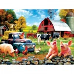 Puzzle  Sunsout-42063 Sharon Steele - Farm Days