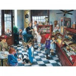 Puzzle  Sunsout-44246 Susan Brabeau - Confectionary Shop