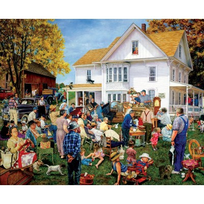 Puzzle Sunsout-44637 Susan Brabeau - Farmhouse Auction