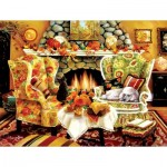 Puzzle  Sunsout-45419 Pièces XXL - Autumn Warmth