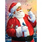 Puzzle  Sunsout-50734 Pièces XXL - Santa's Morning Meeting