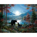 Puzzle  Sunsout-52966 Pièces XXL - Mark Keathley - Bedtime Kisses