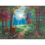 Puzzle  Sunsout-53050 Mark Keathley - Nighttime Antics