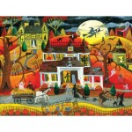 Puzzle  Sunsout-54771 Pièces XXL - Halloween Fright Night