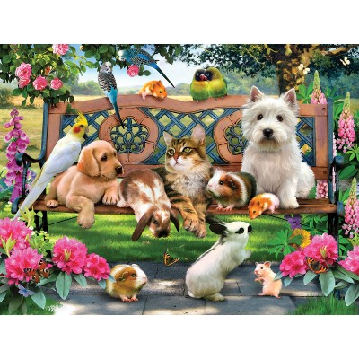 Puzzle Sunsout-54938 Pièces XXL - Pets in the Park