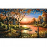 Puzzle  Sunsout-55140 Chuck Black - Glorious Sunset