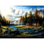 Puzzle  Sunsout-55176 Chuck Black - Living Wild
