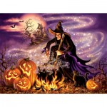 Puzzle  Sunsout-57139 Pièces XXL - All Hallows Eve